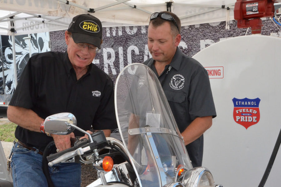 Changing Minds on Ethanol at Sturgis