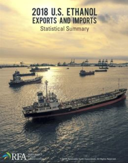 Read 2018 U.S. Ethanol Exports and Imports