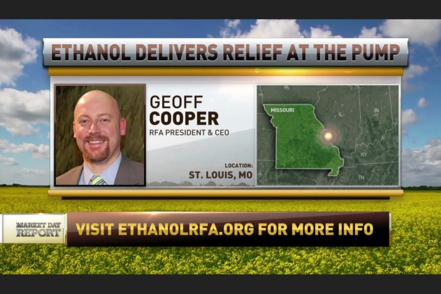 RFA's Geoff Cooper on ethanol and gas prices