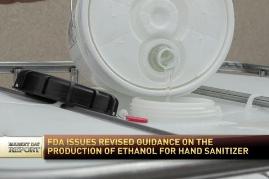 RFD-TV Interview on New Hand Sanitizer Guidance