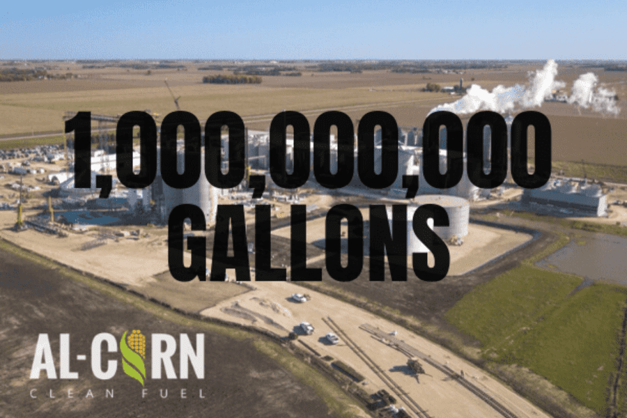 A Legacy of Leadership: Al-Corn Clean Fuel Celebrates One Billion Gallons