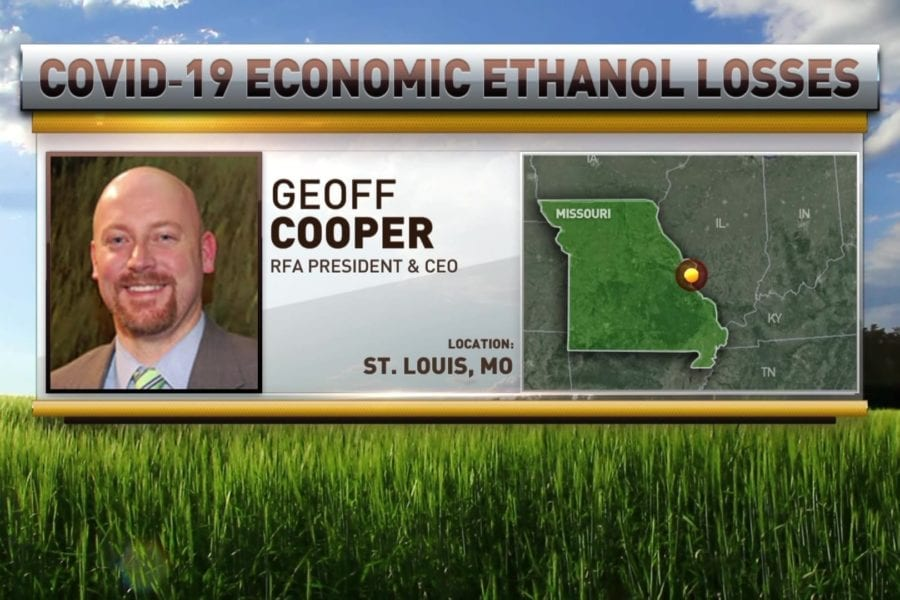 Geoff Cooper Discusses Pandemic's Huge Economic Toll on Ethanol Producers